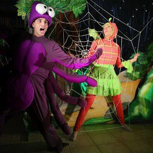 גחלילית והעכביש