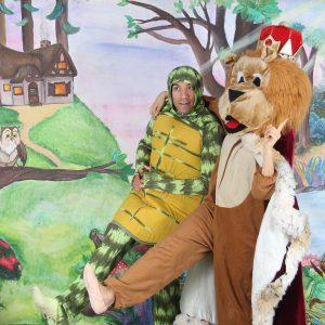 צבי ומלך החיות