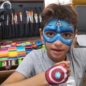 איפור קפטן אמריקה