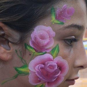 איפר פנים של פרחים